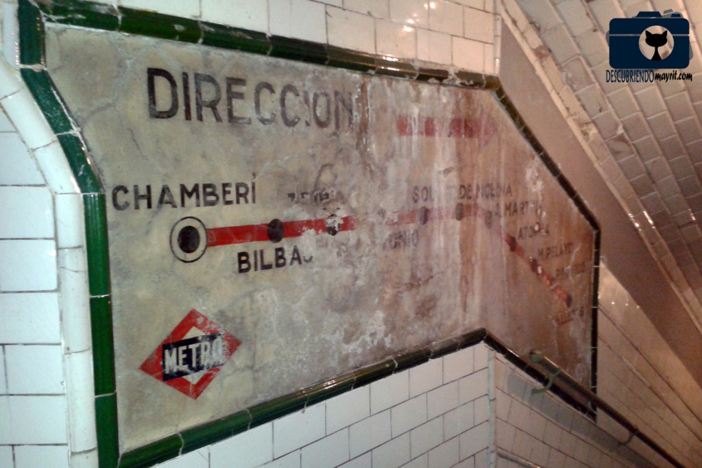 Estación de Chamberí - Descubriendo Mayrit