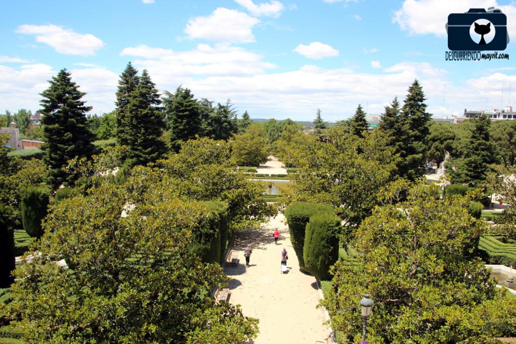 Jardines de Sabatini - Descubriendo Mayrit