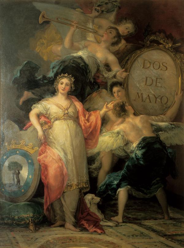 Alegoría de la Villa de Madrid - Descubriendo Mayrit