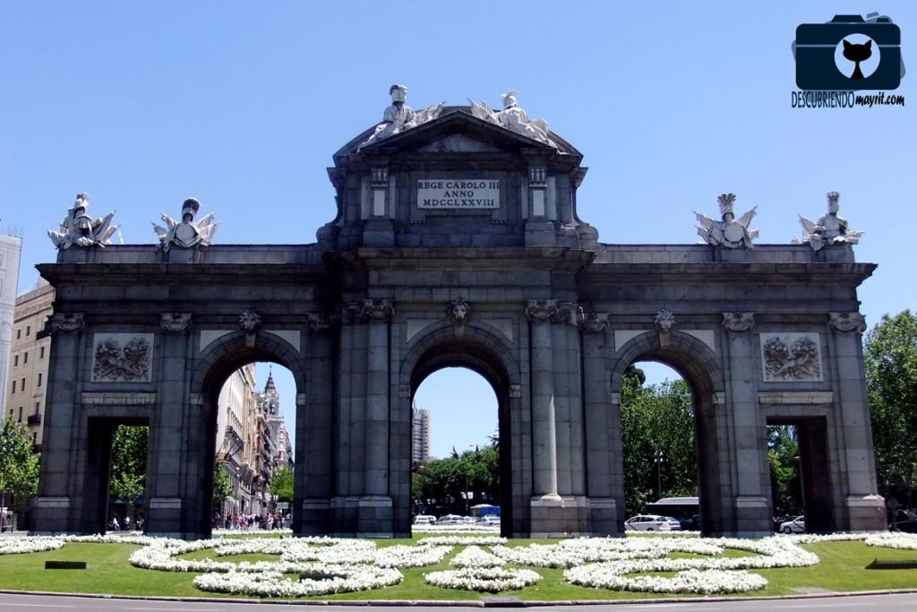 Puerta de Alcalá - Descubriendo Mayrit