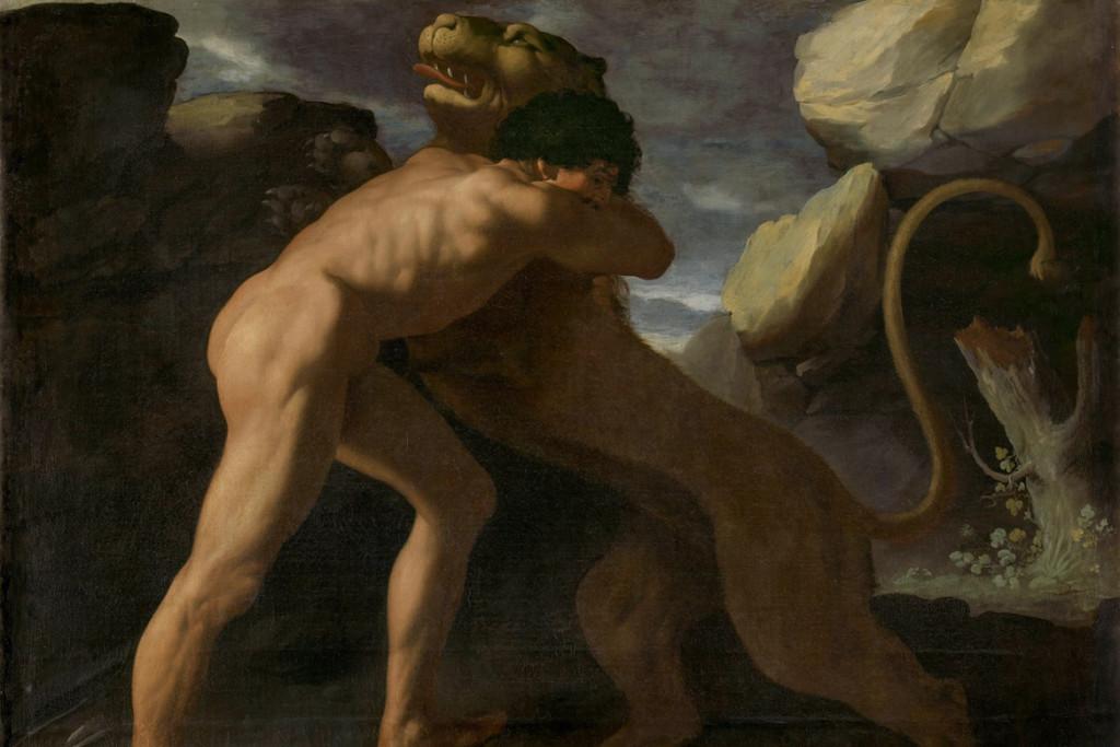 Hércules y el León de Nemea - Descubriendo Mayrit