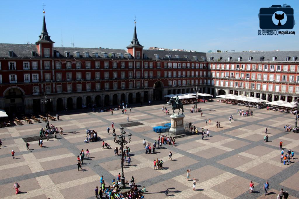 Accesos a la Plaza Mayor - Descubriendo Mayrit