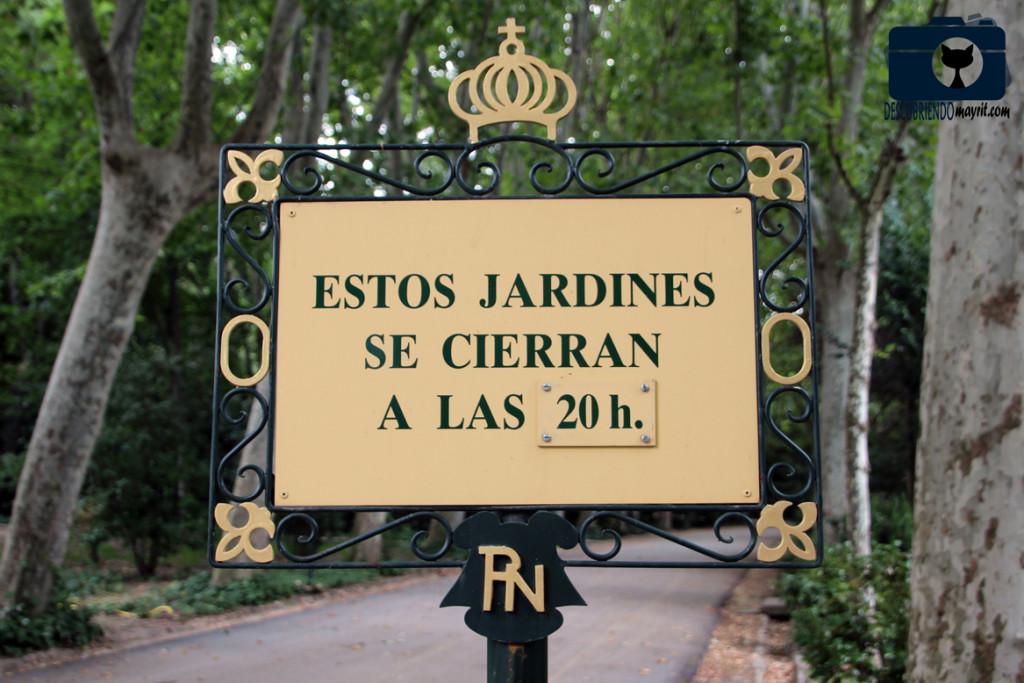 Jardines del Campo del Moro - Descubriendo Mayrit