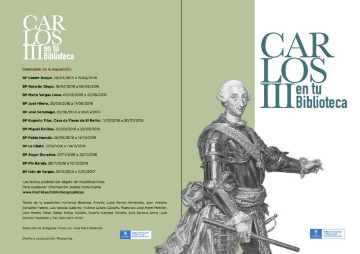 Carlos III en tu Biblioteca - Descubriendo Mayrit