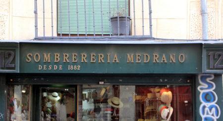 Sombrereria Medrano - Descubriendo Mayrit