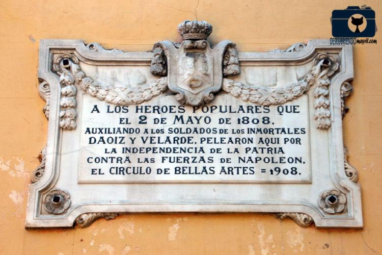 Dos de Mayo - Descubriendo Mayrit