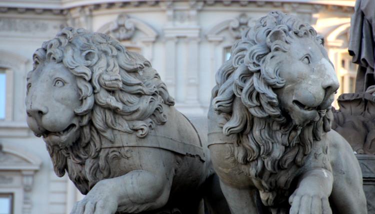 Los leones de la Cibeles - Descubriendo Mayrit