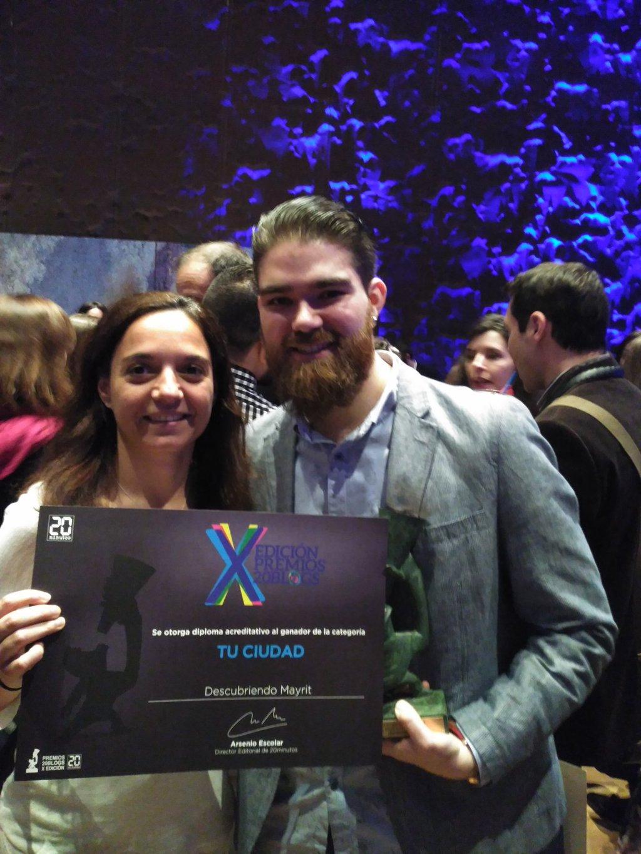 X Edición Premios 20 Blogs - Descubriendo Mayrit