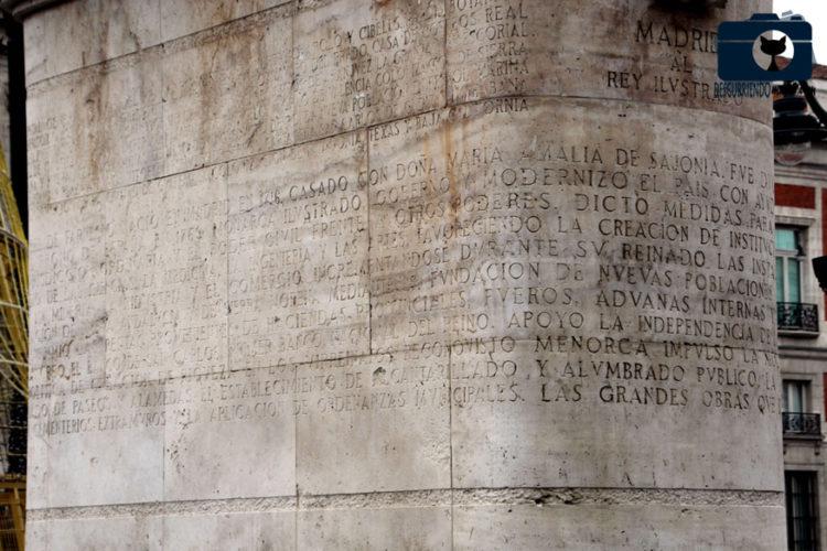 Madrid ecuestre - Carlos III - Descubriendo Mayrit