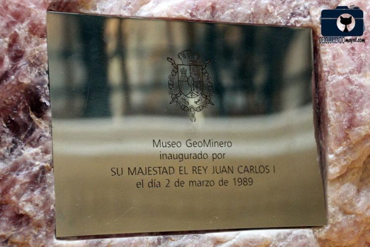 Museo Geominero - Descubriendo Mayrit
