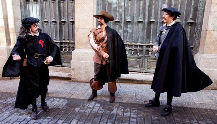 Ruta teatralizada 'Letras y Espadas' - Descubriendo Mayrit