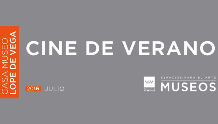 Cine de verano Lope de Vega - Descubriendo Mayrit