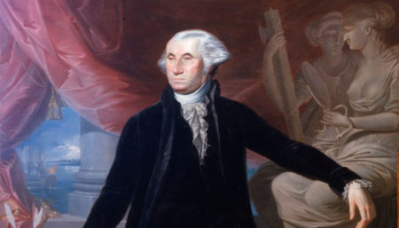 Retrato de George Washington - Descubriendo Mayrit