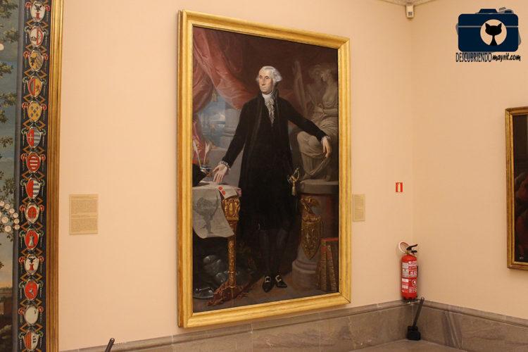 Retrato de George Washington - Descubriendo Mayrit
